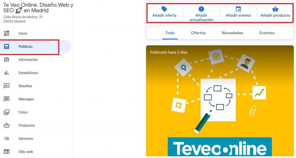 Google My Business Consejos optimizacion