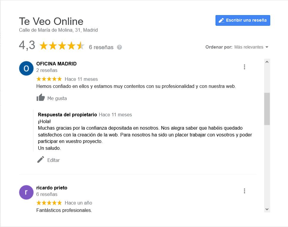 Opiniones Te Veo Online